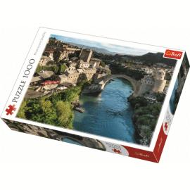 Puzzles - 1000 - Mostar, Bosnia and Herzegovina / Trefl - Legpuzzel