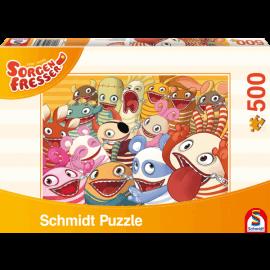 De Zorgenvriendjes puzzel 500 pcs