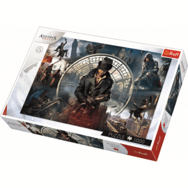 Assassins world - Trefl - 1000 pcs - Legpuzzel