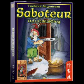 Saboteur De Uitbreiding_spelmateriaal