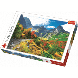 Puzzles - 500 - Autumn Tatras / Trefl - Legpuzzel