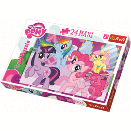 Puzzles - 24 Maxi - Frendship is a magic / Hasbro My Little  - Legpuzzel
