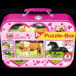 Horses Puzzle-Box 2x262x48 pcs