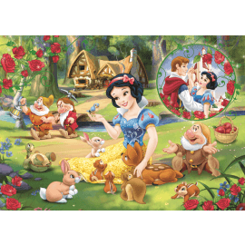 Puzzles - 200 - The dream of love / Disney Princess - Legpuzzel