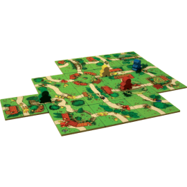 Carcassonne-Junior-spelmateriaal