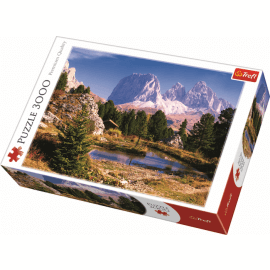 A Lake in Dolomites / Trefl - 3000 pcs - Legpuzzel