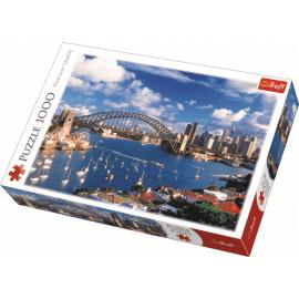 Puzzles - 1000 - Port Jackson, Sydney / Trefl - Legpuzzel