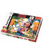 Maxipuzzel 24 pcs - Camping / Disney Minnie Mouse - Legpuzzel