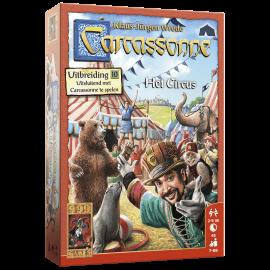 Carcassonne_Het_Circus_speelmateriaal