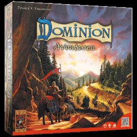 Dominion-Avonturen-speelmateriaal