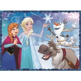 2 in 1 + memos - Sisters - Frozen/ Disney - Legpuzzel