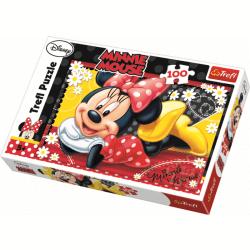 Happy Minnie / Disney Minnie Mouse - 100 pcs - Legpuzzel