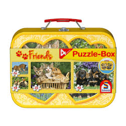 Domestic Animals Puzzle-Box 2x26 2x48 pcs