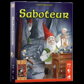 Saboteur-speelmateriaal