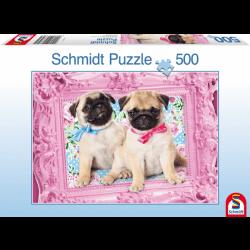 Pug and Puglet 500 pcs