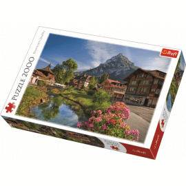 Alps in the summer / Trefl - 2000 pcs - Legpuzzel