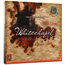 Brieven uit Whitechapel Dear Boss speelmateriaal