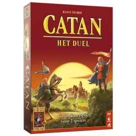 Catan - Het Duel speelmateriaal