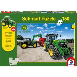 Traktoren der 5M Serie, 150 Teile + SIKU Traktor