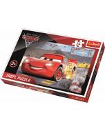 Maxipuzzel 24 pcs - Cars 3 / Disney Cars - Legpuzzel