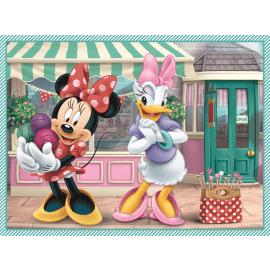 2 in 1 + memos - Minnie's hobby -  Disney Minnie - Legpuzzel