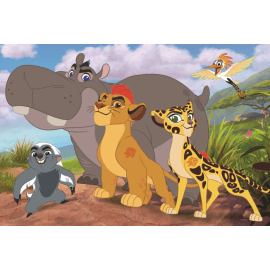 Puzzles - 24 Maxi - Brave guards / Disney Lion Guard - Legpuzzel