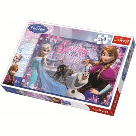 Puzzles - 260 - Love in the Frozen Land / Disney Frozen - Legpuzzel