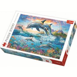 Happy Dolphins / Trefl - 2000 pcs - Legpuzzel