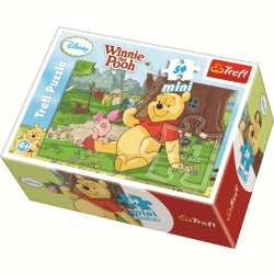 Mini - Summer in the One Hundred Acre Picture 4 - 54 pcs - Legpuzzel