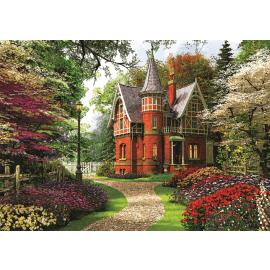Puzzles - 1000 - Victorian cottage / Trefl - Legpuzzel