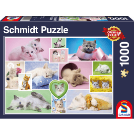 Cuddly cats, 1000 pcs
