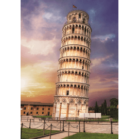 Puzzles - 1000 - Pisa tower / Trefl - Legpuzzel