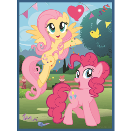 2 in 1 + memos - Friendship is magic - My Little Pony - Legpuzzel