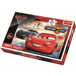 Duel om de Piston Cup / Disney Cars 3 - 100 pcs - Legpuzzel