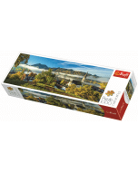 Panorama - By the Schliersee lake / Trefl - 1000 pcs - Legpuzzel