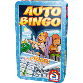 Autobingo speelmateriaal