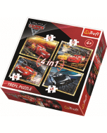 4 in 1 - Cars 3 / Disney Cars - Legpuzzel
