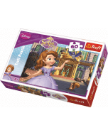 In front of the palace / Disney Sofia the First - 60 pcs - Legpuzzel