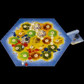 De-Steden-en-Ridders-van-Catan-speelmateriaal