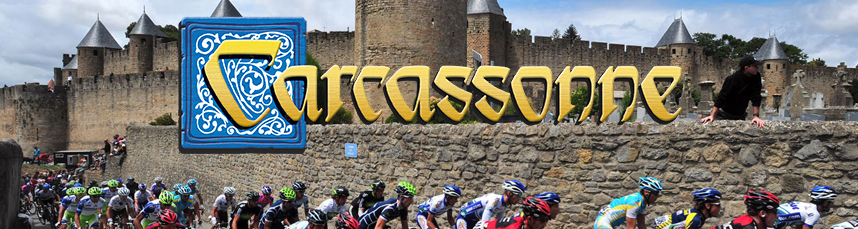 Tour de France in Carcassonne