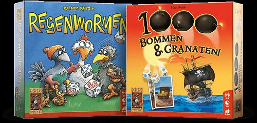 1000 Bommen en granaten & Regenwormen