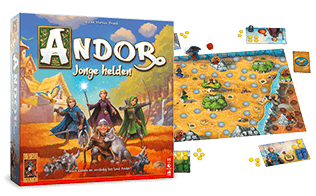 999 Games - De Legenden van Andor: Jonge Helden