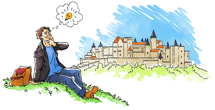 999 Games - Klaus-Jürgen Wrede - Hoe het begon - Carcassonne