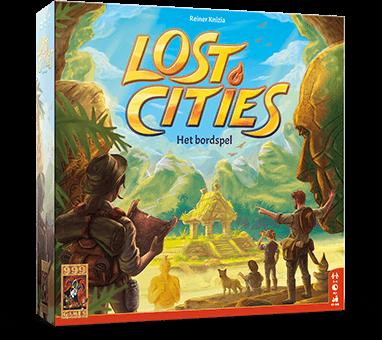 Leuk Lost Cities Bordspel
