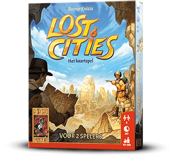 Lost Cities Leuk Kaartspel