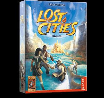 Nieuw Leuk Lost Cities Rivalen van Reiner Knizia