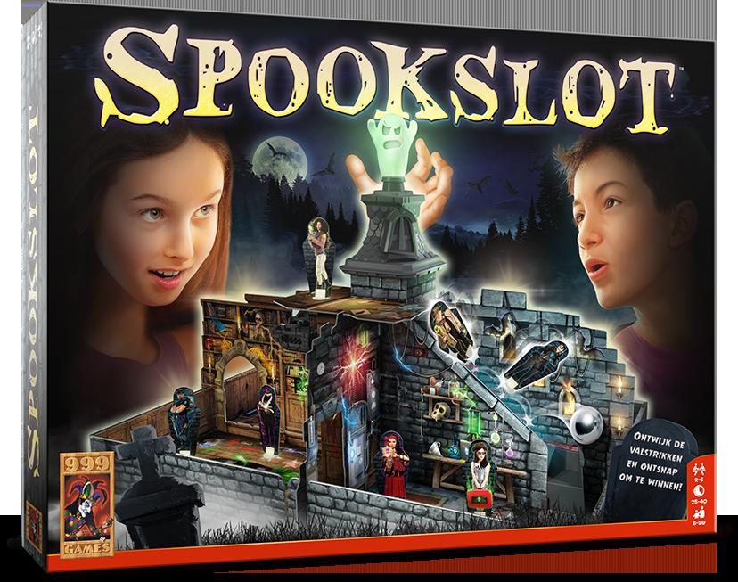 999 Games - Spookslot is terug! Het bekende familiespel uit De jaren '80 is in een nieuw jasje gestoken.