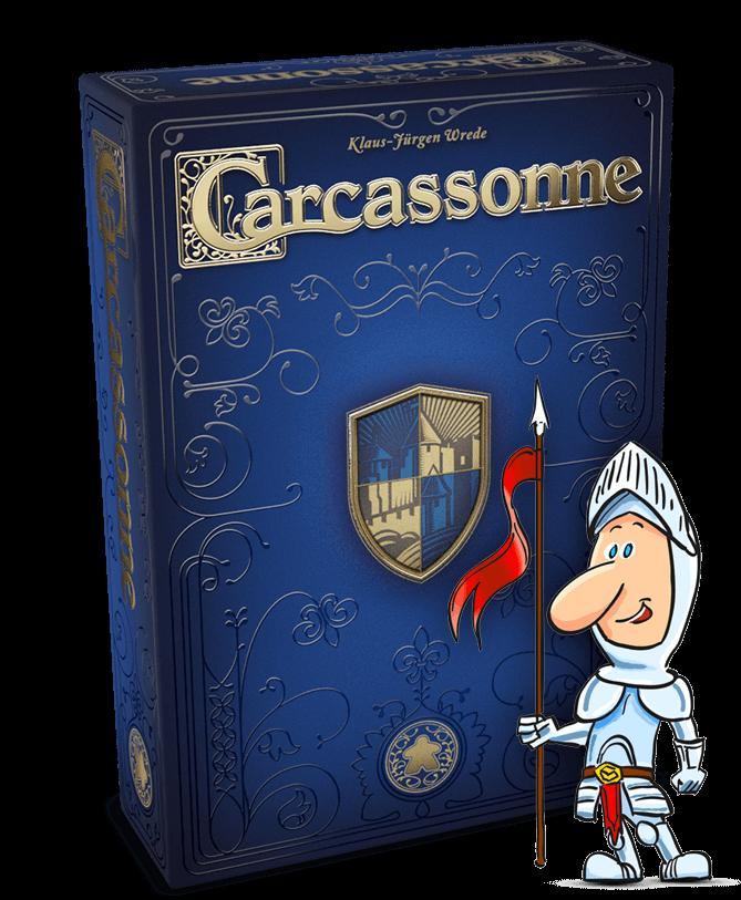 999 Games - Carcassonne is jarig.