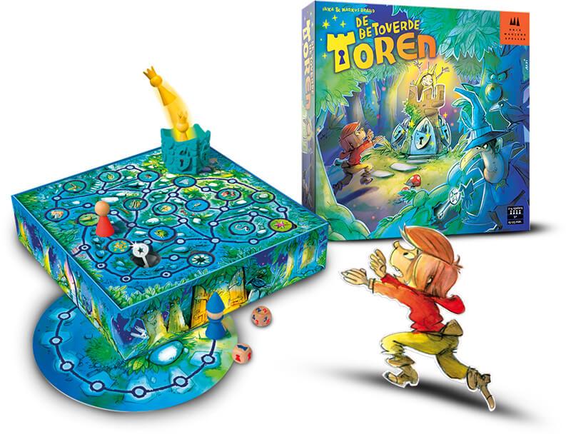 De Betoverde Toren Van Drie Magiërs Spellen Leuk Kinderspel Voor Jong En Oud