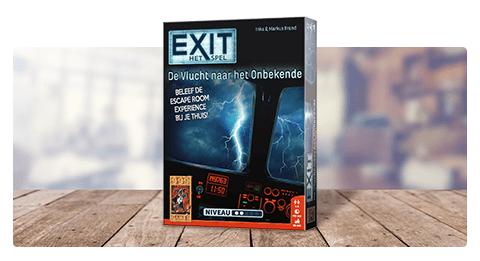999 Games - Exit: De Vlucht naar het Onbekende